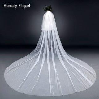 【☆結婚式☆】ウェディング/ベール/オフホワイト(ヘッドドレス/ドレス)