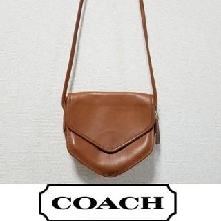 e0fe993e680f コーチ(COACH)のvintage COACH 本革 ミニショルダーバッグ ブラウン(ショルダーバッグ