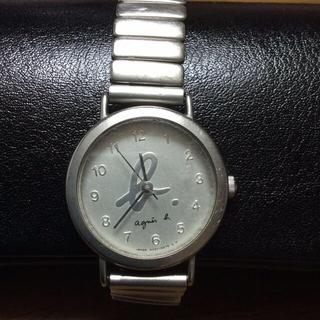 アニエスベー(agnes b.)のアニエスベー 蛇腹レディース腕時計(腕時計)
