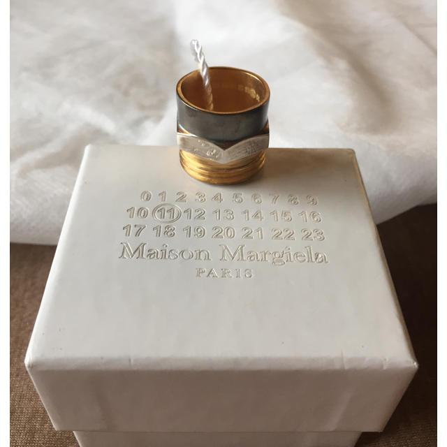 Maison Martin Margiela(マルタンマルジェラ)のL新品58%off マルジェラ ボルトナット リング マルチ メンズのアクセサリー(リング(指輪))の商品写真