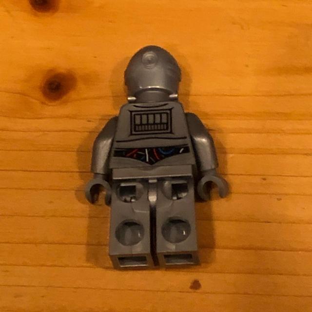 Lego(レゴ)のレゴ スターウォーズ ミニフィグ C3-PO シルバー キッズ/ベビー/マタニティのおもちゃ(知育玩具)の商品写真