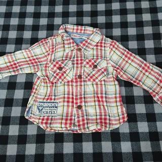 キムラタン(キムラタン)のキムラタン チェックシャツ80(Tシャツ)