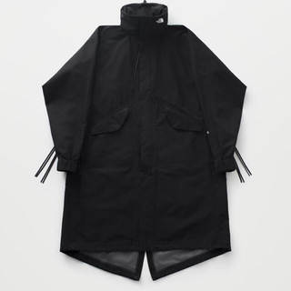 ザノースフェイス(THE NORTH FACE)のHYKE THE NORTH FACE GTX military coat S(モッズコート)