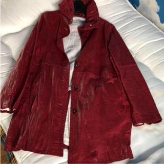 アルカリ(alcali)のアルカリ 豚革コート(毛皮/ファーコート)
