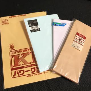 ムジルシリョウヒン(MUJI (無印良品))の封筒4種セット(カード/レター/ラッピング)