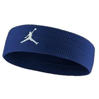 ナイキ(NIKE)の新品 NIKE jordan basketball head band ブルー紺(ヘアバンド)