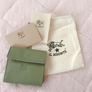 【値下げ】イルビゾンテ 財布 限定カラー オリーブグリーン