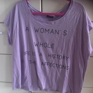 エモダ(EMODA)のメッセージTシャツ(Tシャツ(半袖/袖なし))