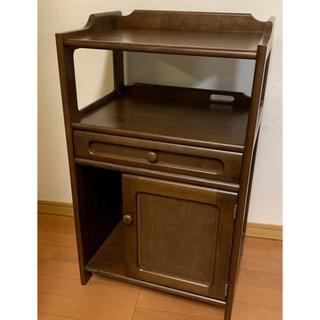 カリモクカグ(カリモク家具)のカリモク家具 FAX台 (電話台/ファックス台)