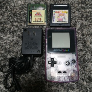 ニンテンドウ(任天堂)のゲームボーイカラー セット値下げ✨(携帯用ゲーム本体)