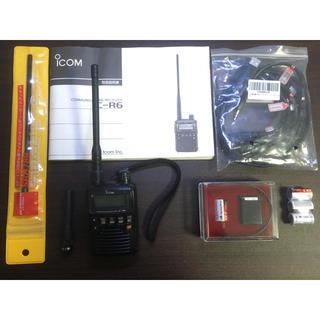 ICOM IC-R6 + KT-400 セット(アマチュア無線)