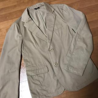 ザラ(ZARA)のテラードジャケット ジャケット スーツ ライダース メンズ レディース ベージュ(テーラードジャケット)