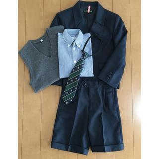 サンカンシオン(3can4on)の男の子 スーツ 5点セット 入学式 卒園式(ドレス/フォーマル)