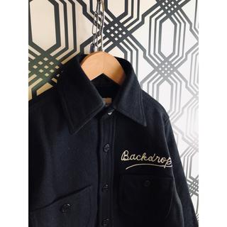 バックドロップ(THE BACKDROP)のBack drop wool CPO shirt jacket(ミリタリージャケット)