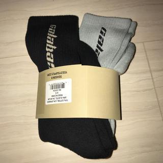 フィアオブゴッド(FEAR OF GOD)の   yeezy calabasas socks season6 ソックス2足(ソックス)
