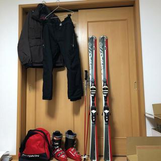ディナスター(DYNASTAR)のスキーセット 板・ブーツ・スティック・ウェア(上下)(板)