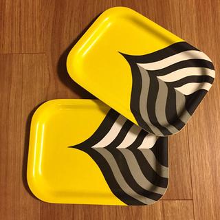 マリメッコ(marimekko)のMarimekko / トレー(2枚セット)(テーブル用品)