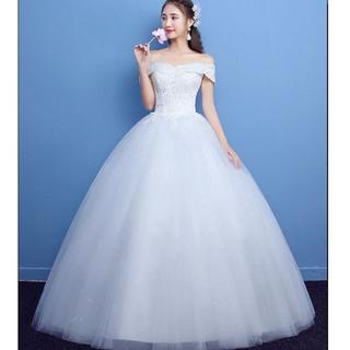 新品ウエディングドレス 結婚式 演奏会 二次会 ステージドレス