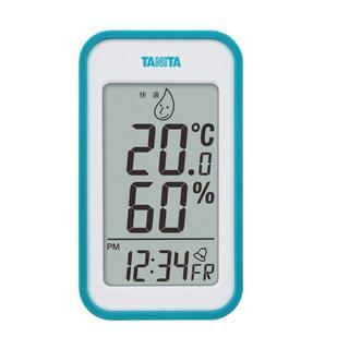 タニタ デジタル温湿度計 置き掛け両用タイプ/マグネット付 ブルー(その他 )