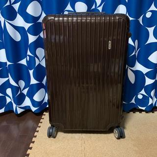 リモワ(RIMOWA)のsugi様専用 RIMOWA SALSA DELUXE ブラウン リモワ 80L(トラベルバッグ/スーツケース)