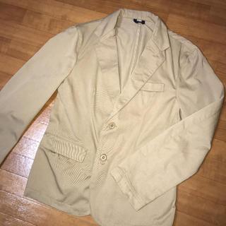 ザラ(ZARA)のベージュ テラードジャケット  スーツ ジャケット チェスターコート レディース(テーラードジャケット)