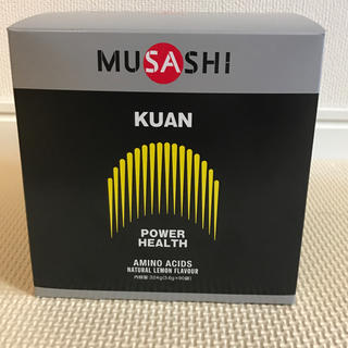 MUSASHI ムサシ クアン 大 90本入り 新品未開封 複数購入で割引あり(アミノ酸)