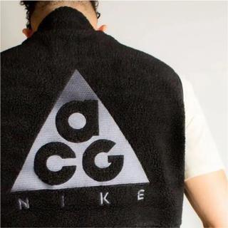 ナイキ(NIKE)のNIKE ACG FLEECE VEST CLASSIC BLACK XL(ベスト)