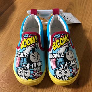 ニシマツヤ(西松屋)のトーマス 靴 スリッポン 2歳 14cm 幼稚園 保育園 (スリッポン)