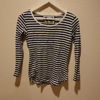 メゾンドリーファー(Maison de Reefur)のメゾンドリーファー  ボーダーTシャツ(Tシャツ(長袖/七分))
