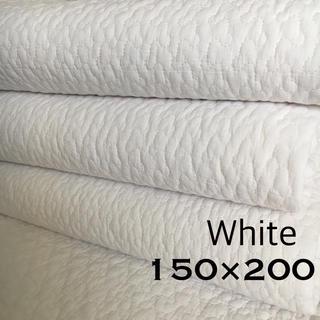 韓国 イブル クラウド柄 ホワイト 150×200(ラグ)