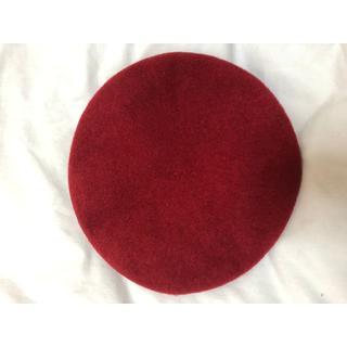 トゥモローランド(TOMORROWLAND)の値下げ!★KIJIMA TAKAYUKI フェルト ベレー帽★(ハンチング/ベレー帽)