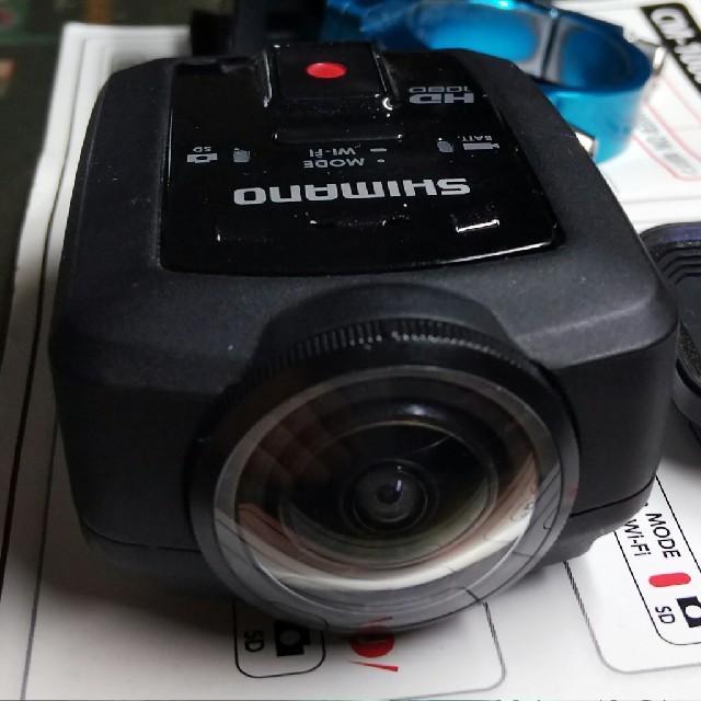 SHIMANO(シマノ)のシマノ アクションカメラ CM-1000 ロードバイクカメラ スマホ/家電/カメラのカメラ(ビデオカメラ)の商品写真
