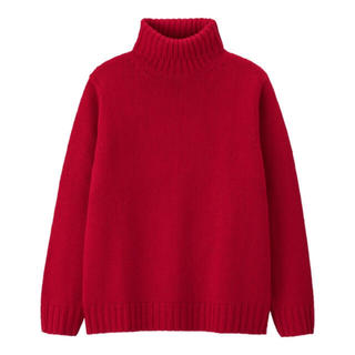 GU - ローケージタートルネックセーター