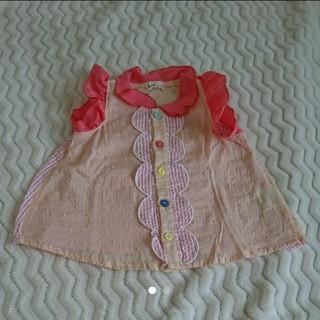 キッズズー(kid's zoo)のノースリーブシャツ 70cm(タンクトップ/キャミソール)