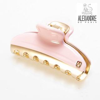 アレクサンドルドゥパリ(Alexandre de Paris)の♪新品♪Alexandre de Paris♪VENDOMEクリップ/rose♪(バレッタ/ヘアクリップ)