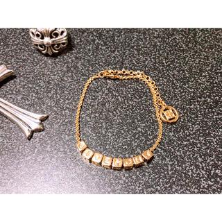 ジバンシィ(GIVENCHY)のGIVENCHY Gold bracelet old vintage  古着(ブレスレット)
