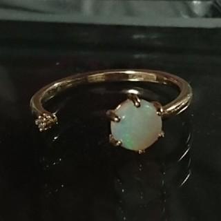 アガット(agete)のアガット K10YG オパール リング(リング(指輪))
