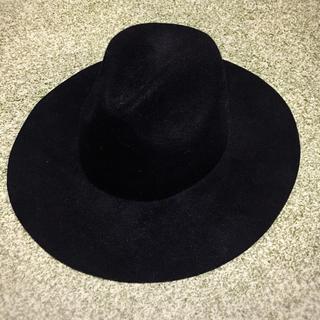 シマムラ(しまむら)の女優帽、つば広ハット(ハット)