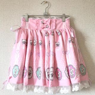 ボボンニジュウイチ(Bobon21)のbobon21♡ピンクミニスカート(ミニスカート)