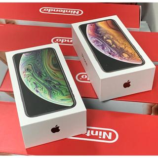 アップル(Apple)のまとめて出品 iPhoneXS64GB×2台+任天堂スイッチ 4台セット(家庭用ゲーム本体)