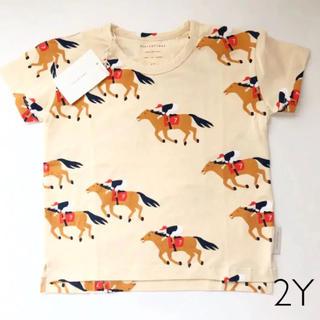 ボボチョース(bobo chose)の大人気完売品 tinycottons ホース Tシャツ 2Y(Tシャツ/カットソー)