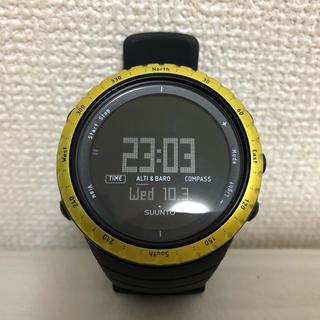 スント(SUUNTO)の【SUUNTO】腕時計 / コア ブラックイエロー(腕時計(デジタル))