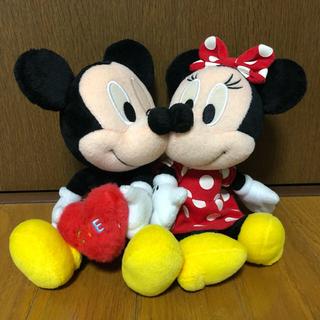 ディズニー(Disney)の【値下げ】ミッキー&ミニー ウェディングドール ぬいぐるみ(ぬいぐるみ)