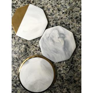 ザラホーム(ZARA HOME)の大理石コースター(テーブル用品)