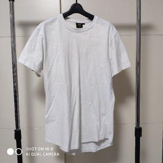 ジーユー(GU)の白シャツ 2枚セット(Tシャツ/カットソー(半袖/袖なし))