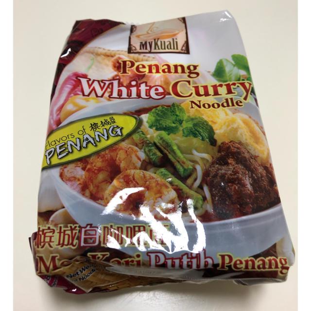 ペナン ホワイトカレーヌードル 食品/飲料/酒の加工食品(インスタント食品)の商品写真