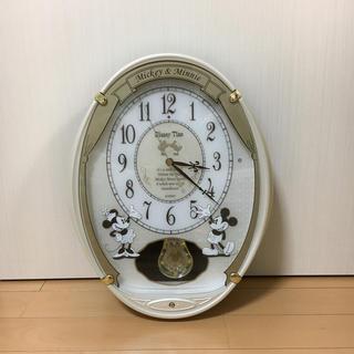セイコー(SEIKO)の★ セイコー クロック 掛け時計 ミッキー ミニー 電波 飾り振り子 ディズニー(掛時計/柱時計)