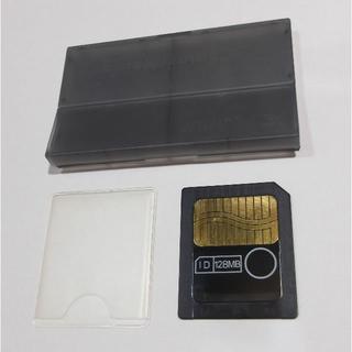 フジフイルム(富士フイルム)のスマートメディア 128MB カバーとケース付き 動作品【送料込】(その他)