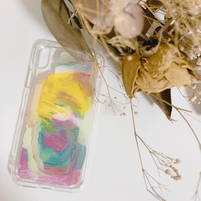 flower - ハンドメイド iphoneケースの通販 by 27's shop|フラワーならラクマ