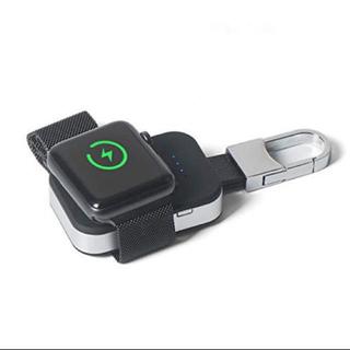 Apple Watch - アップルウォッチ 1 2 3 4 ワイヤレス充電 チャージャ 出張 登山 緊急用